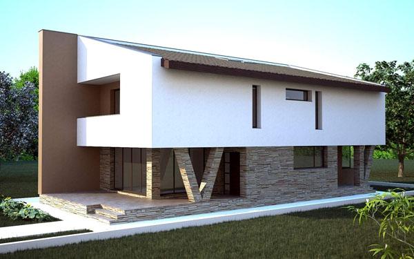 Medie case case in legno for Piani di appartamento garage a buon mercato